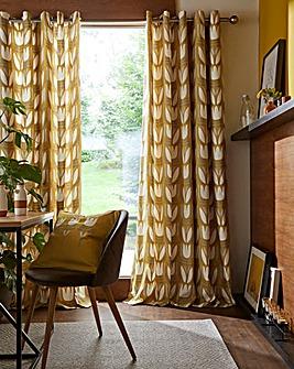 Fusion Haldon Floral Eyelet Curtain