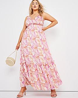 Joanna Hope Tiered Maxi Dress