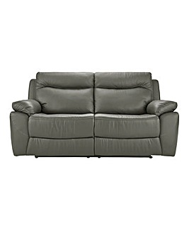 Savona Leather Recliner 3 Seater Sofa