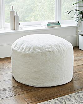 Soft Faux Fur Beanbag