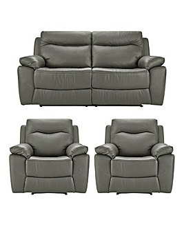 Savona Recliner 3 Seater 2 Chairs