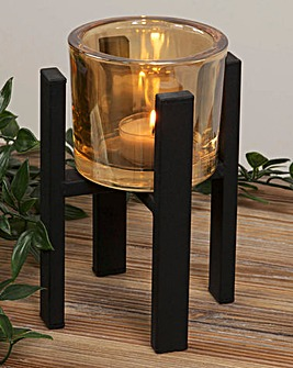 Hestia Single Tealight Holder 15cm
