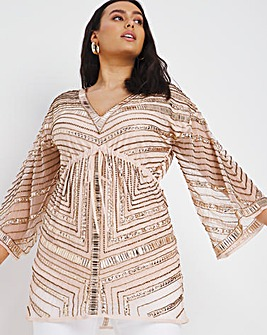 Joanna Hope Beaded Kaftan