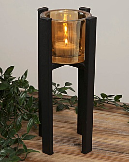 Hestia Single Tealight Holder 26cm