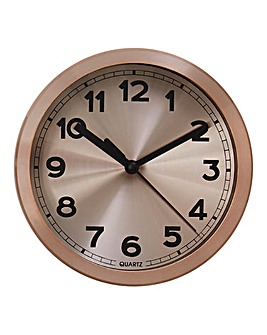 Elko Wall Clock Copper