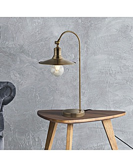 Kenzo Industrial Exposed Bulb Table Lamp