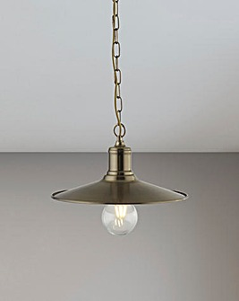 Kenzo Industrial Exposed Bulb Pendant