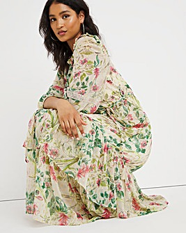 Joanna Hope Floral Print Maxi Dress