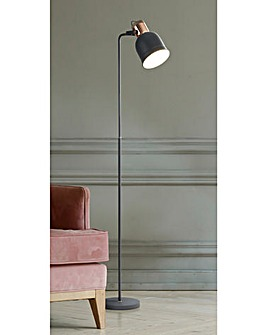 Brooklyn Industrial Floor Lamp