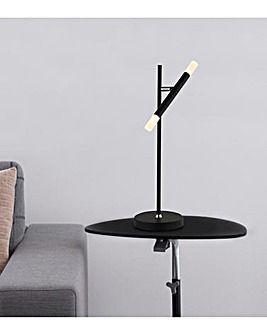 Carlton Black LED Table Lamp