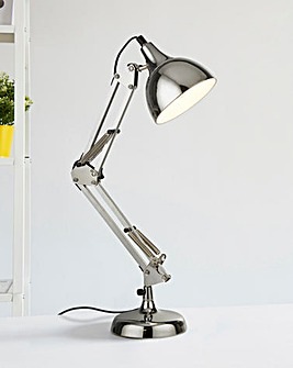 Chrome Hobby Desk Lamp