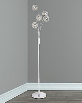 Ezra Twist Floor Lamp