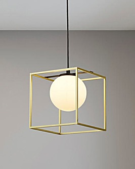 London Globe Shade Easy Fit Pendant