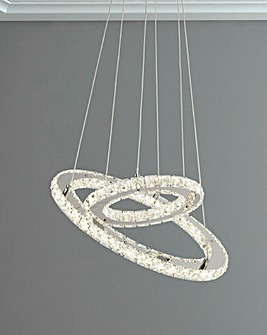 Savannah LED Double Ring Ceiling Fitting