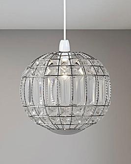 Quinn Acrylic Ball Pendant