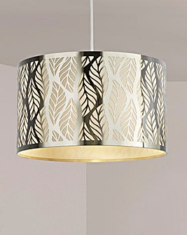 Chrome Leaf Cut Shade