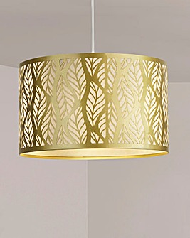 Gold Leaf Cut Shade