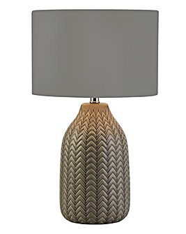 Nevada Grey Ceramic Table Lamp