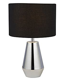 Alby Chrome Set Of Two Touch Lamps