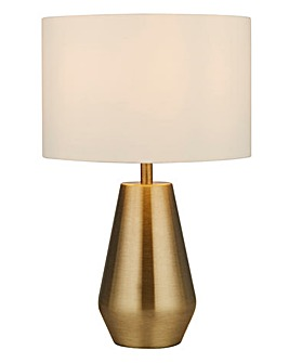 Alby Brass Set Of Two Touch Lamps