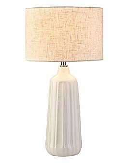 Sophia White Ceramic Table Lamp
