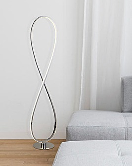 Sculptural LED Floor Table Lamp