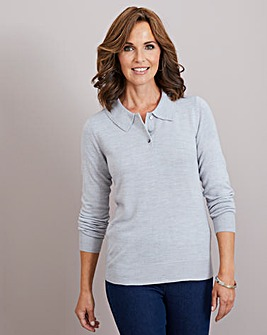Julipa Super Soft Jumper with Collar