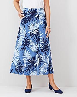 Julipa Print Maxi Jersey Skirt