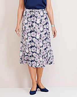 Julipa Print Viscose Skirt 27