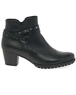 Gabor Oakford Extra Wide Fit Ankle Boots