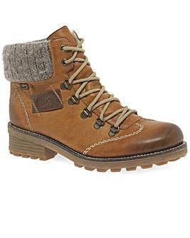 Rieker Wool Standard Fit Ankle Boots