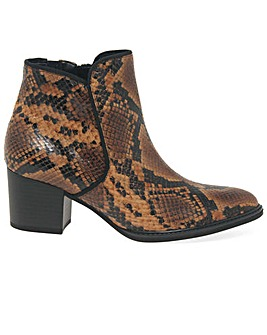 Gabor Robina Wide Fit Ankle Boots