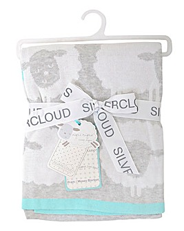 Silvercloud Counting Sheep Blanket