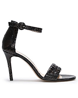 Daniel Mael Leather Reptile Sandals