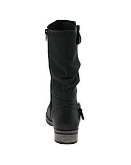 Rieker Estella Womens Calf Length Boots