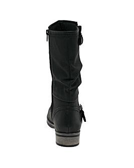 Rieker Estella Standard Fit Calf Boots