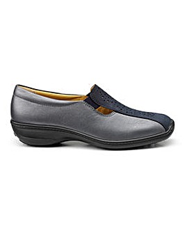 Hotter Calypso Wide Fit Slip-on Shoe