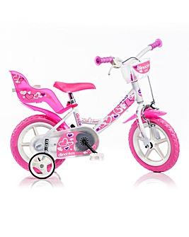 Dinobike 12in Little Heart Bike