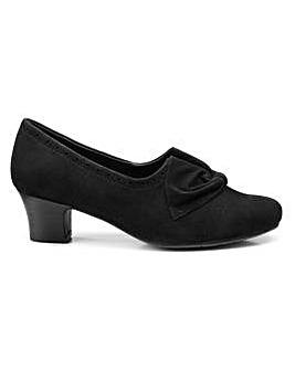 Hotter Donna Wide Fit Heeled Shoe