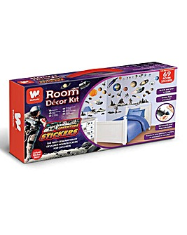 Space Adventure Room Decor Kits