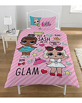 L.O.L Glam Single Duvet