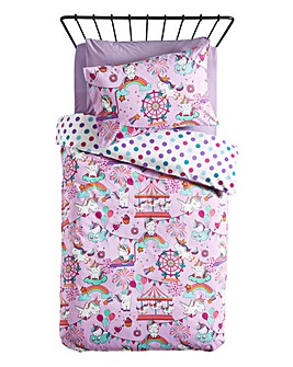 Unicorn Fair Duvet Set