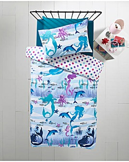 Mermaid Reversible Duvet Set