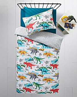 Dinosaur Reversible Duvet Set