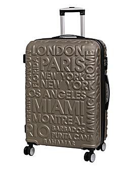 IT Luggage City Names Medium Suitcase