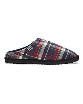 Jack and Jones Jafar Check Slipper