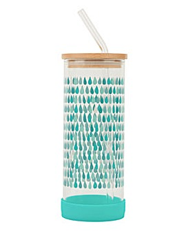 Bamboo Lid Glass Bottle Drops