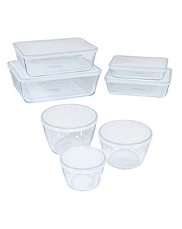 Pyrex Cook&Freeze 7 Piece Roaster Set