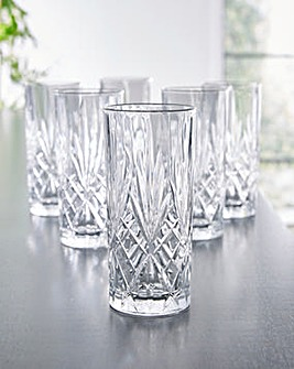 RCR Melodia Set of 6 Hi-Ball Glasses