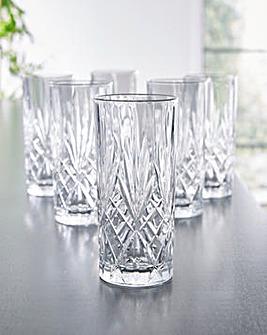 RCR Melodia Set of 6 Hi-Ball Glasses
